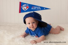 baby blue jays fan